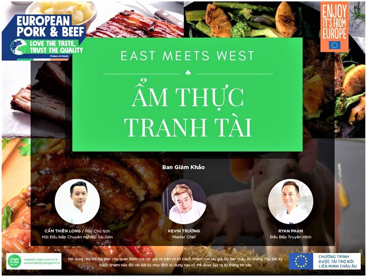 phat dong cuoc thi am thuc tranh tai dong gap tay east meets west