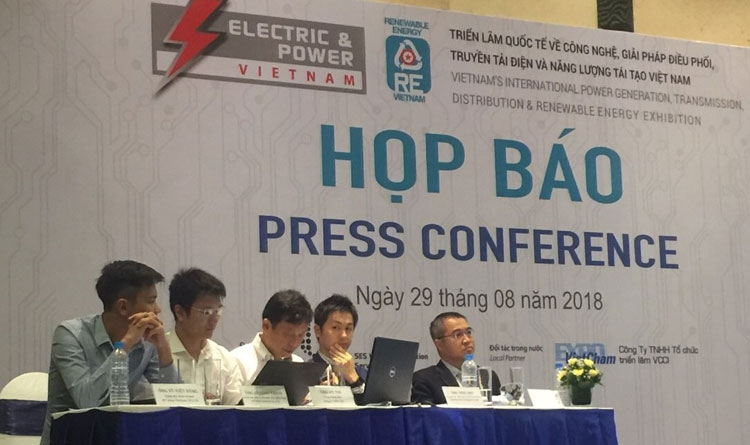 sap dien ra trien lam electric power vietnam 2018