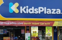 san pham vitadairy co mat tai he thong cua hang kids plaza