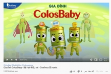 ra mat cover gia dinh colosbaby
